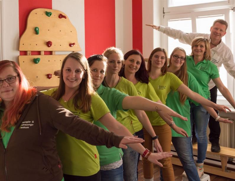 Das Team in unseren Praxen in Halle und Wettin